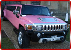 Prom Limo Hire - Pink Hummer